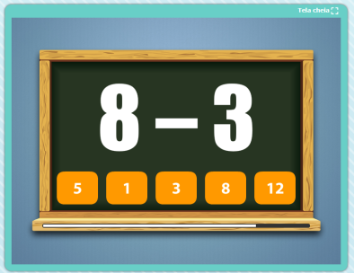 Jogo Desafio de Matemática